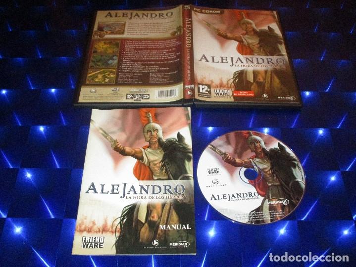 ALEJANDRO LA HORA DE LOS HEROES - PC CD-ROM - MERIDIAN 93 - FRIENDWARE (Juguetes - Videojuegos y Consolas - PC)