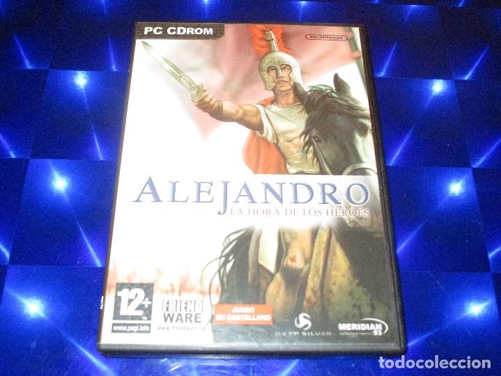 Videojuegos y Consolas: ALEJANDRO LA HORA DE LOS HEROES - PC CD-ROM - MERIDIAN 93 - FRIENDWARE - Foto 2 - 173154717