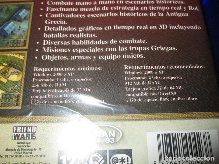 Videojuegos y Consolas: ALEJANDRO LA HORA DE LOS HEROES - PC CD-ROM - MERIDIAN 93 - FRIENDWARE - Foto 4 - 173154717