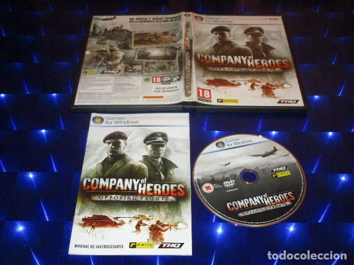Company Of Heroes Opposing Fronts Pc Dvd Buy Video Games Pc At Todocoleccion 173155195
