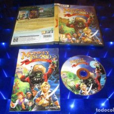 Videojuegos y Consolas: MONKEY ISLAND ( EDICION ESPECIAL COLECCION ) - PC DVD ROM - LUCASARTS. Lote 173169000