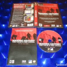 Videojuegos y Consolas: MAKING HISTORY ( THE CALM & THE STORM ) - PC CD-ROM - FRIENDWARE - ESTRATEGIA. Lote 173169312