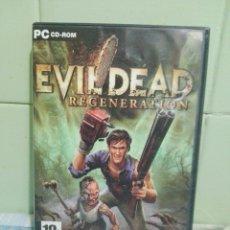 Videojuegos y Consolas: EVIL DEAD REGENERATION PC 4 DISCOS + MANUAL . Lote 173317220