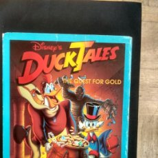 Videojuegos y Consolas: DUCK TALES THE QUEST FOR GOLD - JUEGO PARA PC 5 1/4. Lote 228184505