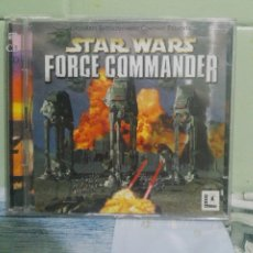 Videojuegos y Consolas: STAR WARS FORCE COMMANDER STARS WAR STARWARS 2 CD PC KRAETEN PEPETO. Lote 173560567