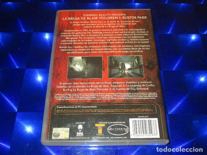 Videojuegos y Consolas: BLAIR WITCH ( VOLUME I RUSTIN PARR ) - PC CD ROM - TERMINAL REALITY - LA BRUJA DE BLAIR - Foto 3 - 173590968