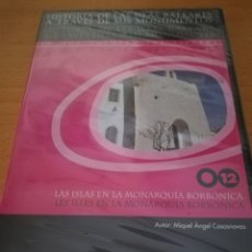 Videojuegos y Consolas: LAS ISLAS BALEARES EN LA MONARQUÍA BORBÓNICA (MIQUEL ÀNGEL CASASNOVAS) CD-ROM PRECINTADO. Lote 173703270