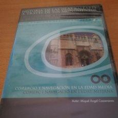 Videojuegos y Consolas: COMERCIO Y NAVEGACIÓN EN LA EDAD MEDIA (MIQUEL ÀNGEL CASASNOVAS) CD-ROM PRECINTADO. Lote 173704373