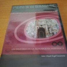 Videojuegos y Consolas: LAS BALEARES EN LA MONARQUÍA HISPÁNICA (MIQUEL ÀNGEL CASASNOVAS) CD-ROM PRECINTADO. Lote 173704658