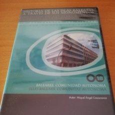 Videojuegos y Consolas: BALEARES, COMUNIDAD AUTÓNOMA (MIQUEL ÀNGEL CASASNOVAS) CD-ROM PRECINTADO. Lote 173705562