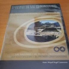 Videojuegos y Consolas: LAS BALEARES Y EL PRIMER CRISTIANISMO (MIQUEL ÀNGEL CASASNOVAS) CD-ROM PRECINTADO. Lote 173706442