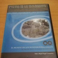Videojuegos y Consolas: EL MUNDO DE LOS HONDEROS BALEÁRICOS (MIQUEL ÀNGEL CASASNOVAS) CD-ROM. Lote 173916150