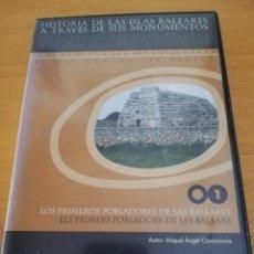 Videojuegos y Consolas: LOS PRIMEROS POBLADORES DE LAS BALEARES (MIQUEL ÀNGEL CASASNOVAS) CD-ROM. Lote 173916230