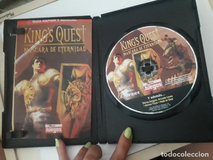 Videojuegos y Consolas: KINGS QUEST MASCARA DE ETERNIDAD JUEGO PC - Foto 2 - 173927255