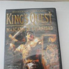 Videojuegos y Consolas: KINGS QUEST MASCARA DE ETERNIDAD JUEGO PC. Lote 173927255