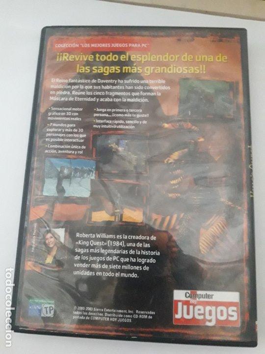 Videojuegos y Consolas: KINGS QUEST MASCARA DE ETERNIDAD JUEGO PC - Foto 3 - 173927255