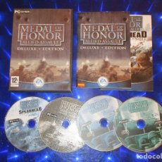 Videojuegos y Consolas: MEDAL OF HONOR ALLIED ASSAULT ( DELUXE EDITION ) - PC CD-ROM - EA GAME - TU NO JUEGAS, TE ALISTAS. Lote 173928287