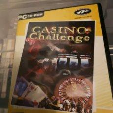 Videojuegos y Consolas: 74. JUEGO DE PC. CASINO CHALLENGE.. Lote 174084944