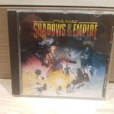 Videojuegos y Consolas: PC CD-ROM STAR WARS SHADOWS OF THE EMPIRE ERBE VERSION ESPAÑOLA ** EXCELENTE **. Lote 174127278