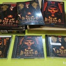Videojuegos y Consolas: JUEGO DIABLO II Y EXPANSIÓN SET, LORD OF DESTRUCTION, EN CASTELLANO . Lote 174328878