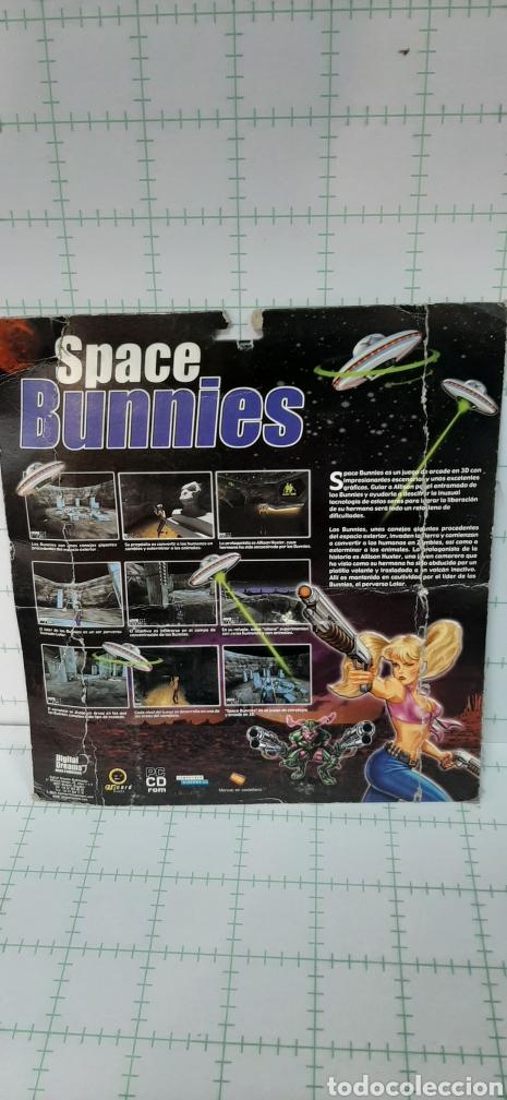 Videojuegos y Consolas: SPACE BUNNIES CD ROM - Foto 2 - 174338658