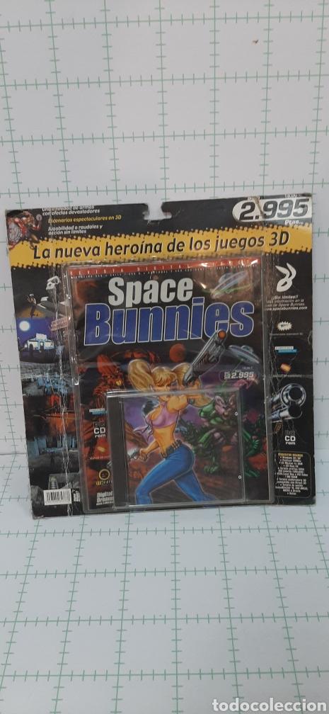 SPACE BUNNIES CD ROM (Juguetes - Videojuegos y Consolas - PC)