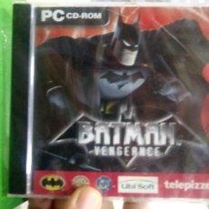 Videogiochi e Consoli: BATMAN VENGEANCE JUEGO PC CD ROM PRECINTADO NUEVO. Lote 174464883