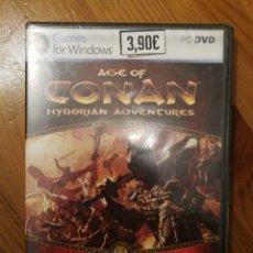 Videojuegos y Consolas: JUEGO PC - AGE OF CONAN - HYBORIAN ADVENTURES - NUEVO. Lote 174471429