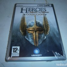 Videojuegos y Consolas: HEROES OF MIGHT AND MAGIC COLLECTION PC NUEVO Y PRECINTADO. Lote 195341623