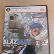 Videojuegos y Consolas: BLAZ BLUE PC. Lote 174547893