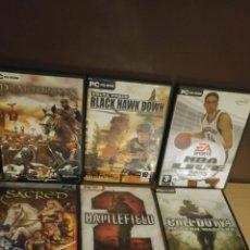 Videojuegos y Consolas: LOTE DE 8 JUEGOS PC AÑOS 90. Lote 174721333