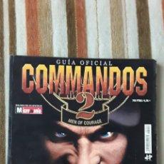 Videojuegos y Consolas: COMMANDOS 2 -GUIA OFICIAL-1999-MICROMANIA. Lote 174977419
