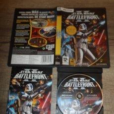 Videojuegos y Consolas: PC STAR WARS BATTLEFRONT II PAL ESP COMPLETO. Lote 175204642