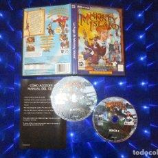 Videojuegos y Consolas: LA FUGA DE MONKEY ISLAND - PC CD-ROM - LUCASARTS - CLASSIC - UNA SUPER AVENTURA DE PIRATAS. Lote 202946917