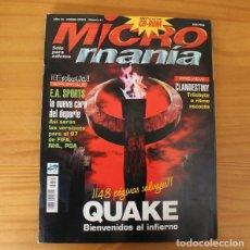 Jeux Vidéo et Consoles: MICROMANIA TERCERA EPOCA 21 QUAKE, CLANDESTINY, E.A. SPORTS, SCREAMER 2... MICRO MANIA. Lote 175310605