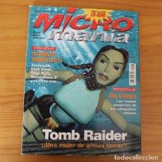 Jeux Vidéo et Consoles: MICROMANIA TERCERA EPOCA 23 TOMB RAIDER, ZOMBIEVILLE, DARK EARTH, MUNDODISCO 2... MICRO MANIA. Lote 175310655