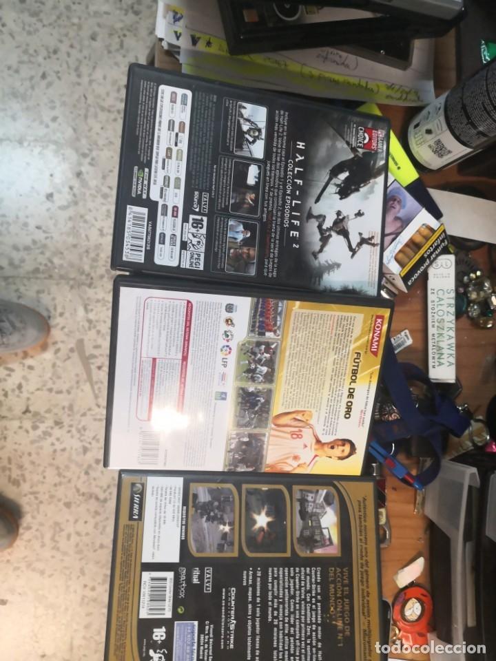 Videojuegos y Consolas: 3 juegos PC half life, pes 6 y counter strike - Foto 2 - 175394974
