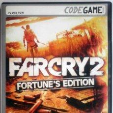 Videojuegos y Consolas: CODEGAME: FARCRY 2 FORTUNE'S EDITION CON MANUEL. TOTALMENTE EN CASTELLANO. . Lote 175467489