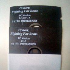 Videojuegos y Consolas: JUEGO DISKETTE 5 1/4 COHORT: FIGHTING FOR ROME. Lote 175721229