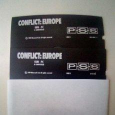 Videojuegos y Consolas: JUEGO DISKETTE 5 1/4 CONFLICT: EUROPE. Lote 175721414