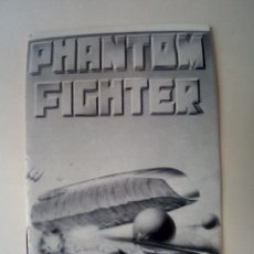 Videojuegos y Consolas: MANUAL PHANTOM FIGHTER. Lote 175721798