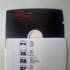 Videojuegos y Consolas: DISKETTE 5 1/4 ULISES CARGA INICIALIZAR EL ORDENADOR-VER FOTOS. Lote 175789219