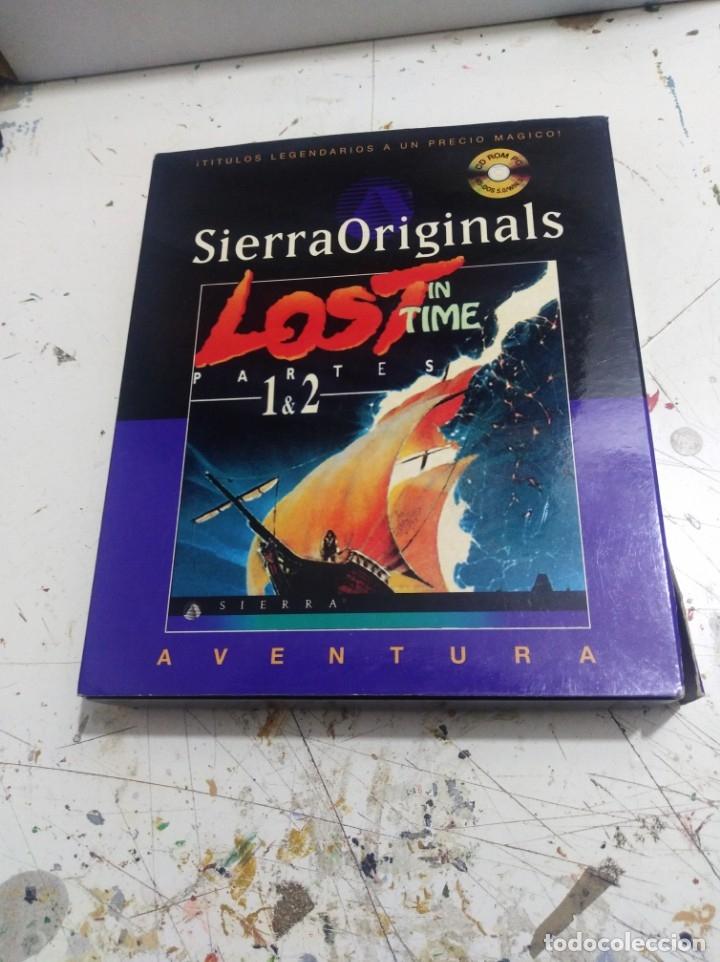 ANTIGUO JUEGO DE PC LOST IN TIME 1Y2 SIERRA (Juguetes - Videojuegos y Consolas - PC)