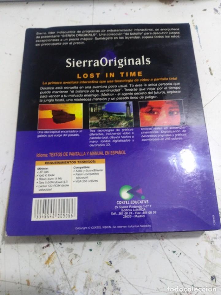 Videojuegos y Consolas: Antiguo Juego de pc lost in time 1y2 Sierra - Foto 2 - 176121319