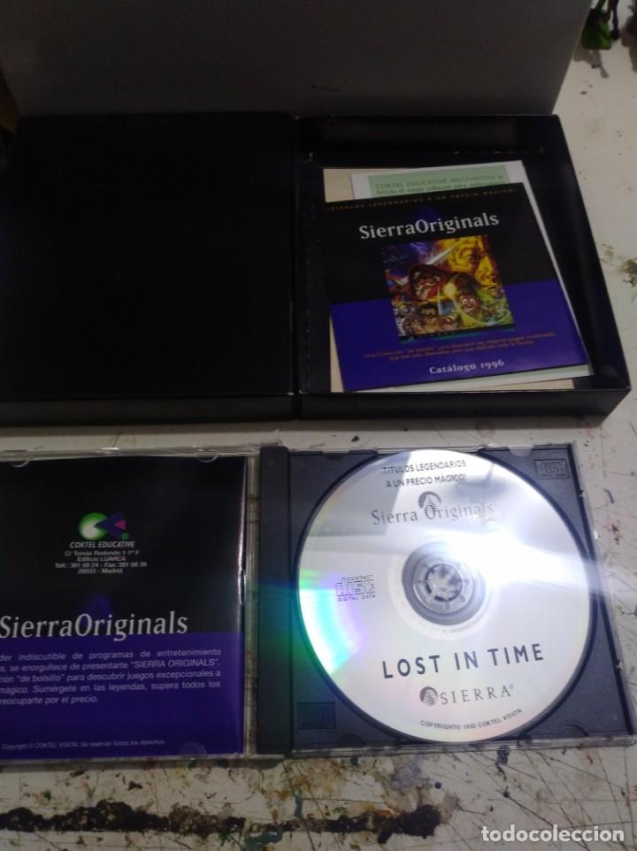 Videojuegos y Consolas: Antiguo Juego de pc lost in time 1y2 Sierra - Foto 3 - 176121319
