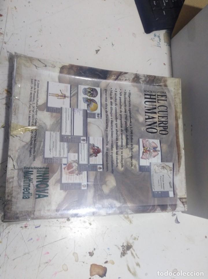Videojuegos y Consolas: Juego pc caja grande enciclopedia el cuerpo humano innova multimedia sin abrir - Foto 2 - 176123152