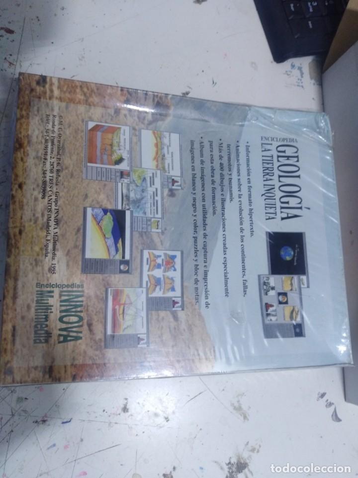 Videojuegos y Consolas: Juego pc caja grande enciclopedia geología la tierra inquieta s innova multimedia sin abrir - Foto 2 - 176123392