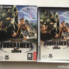Videojogos e Consolas: UNREAL TOURNAMENT 2004 PC CD ROM CAJA CARTON BOX . Lote 176135714