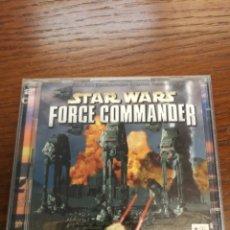 Videojuegos y Consolas: JUEGO STAR WARS FORCE COMMANDER 2 CD PC KRAETEN . Lote 176496899