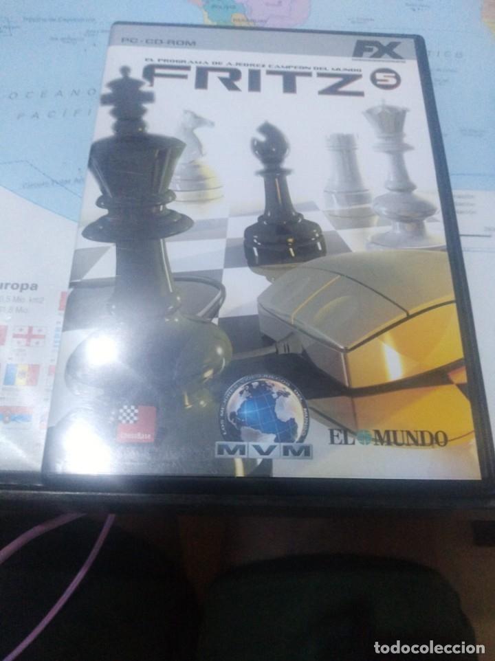 JUEGO DE PC ORDENADOR FX COLECCIÓN EL MUNDO FRITZ AJEDREZ (Juguetes - Videojuegos y Consolas - PC)